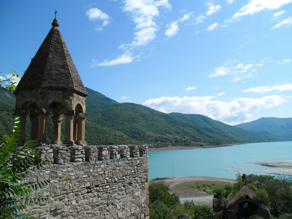 Ananuri Festung und Jinvali See