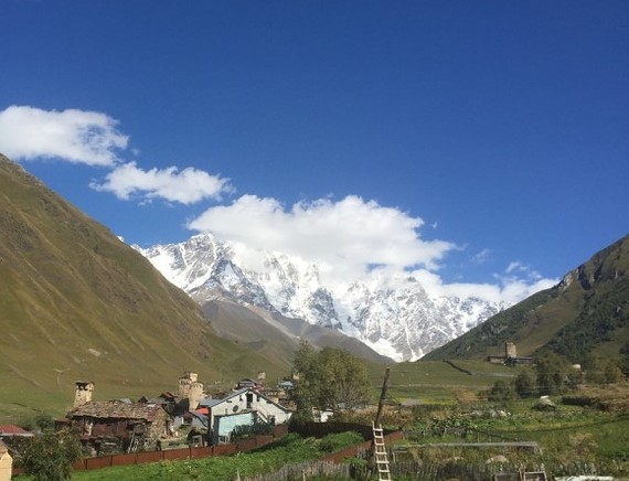Höchster Berg Georgiens Schchara 5200m