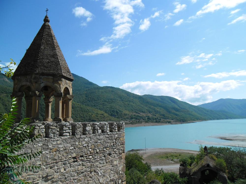 Ananuri Festung und Jinvali Stausee