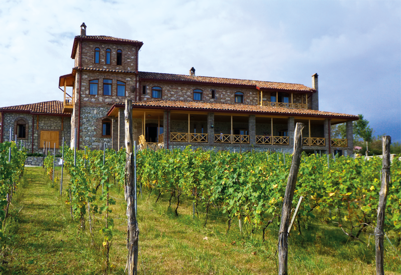 Chateau Schuchmann Kachetien