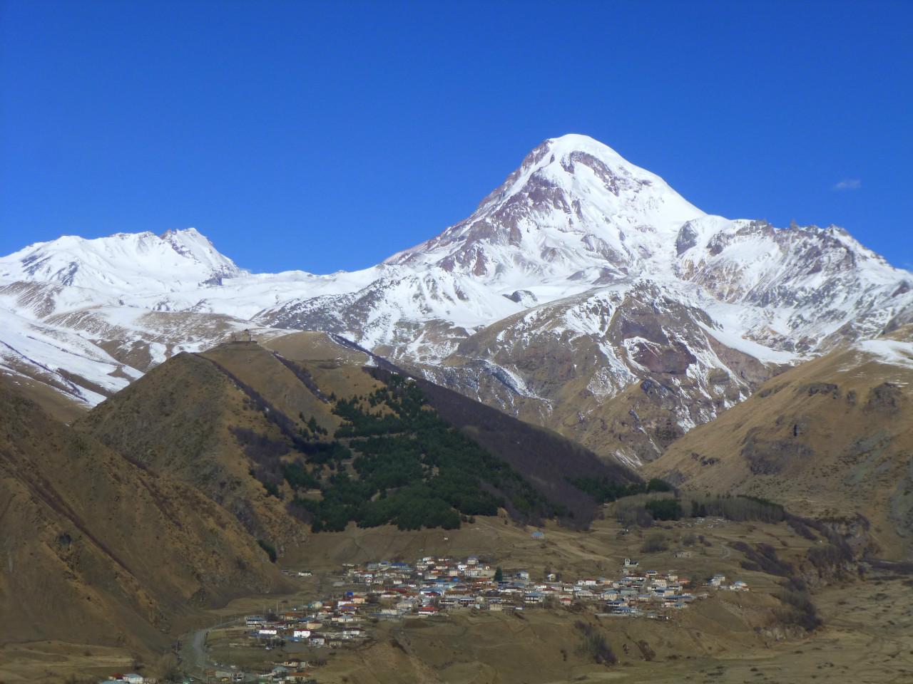 Kazbeg Kaukasus