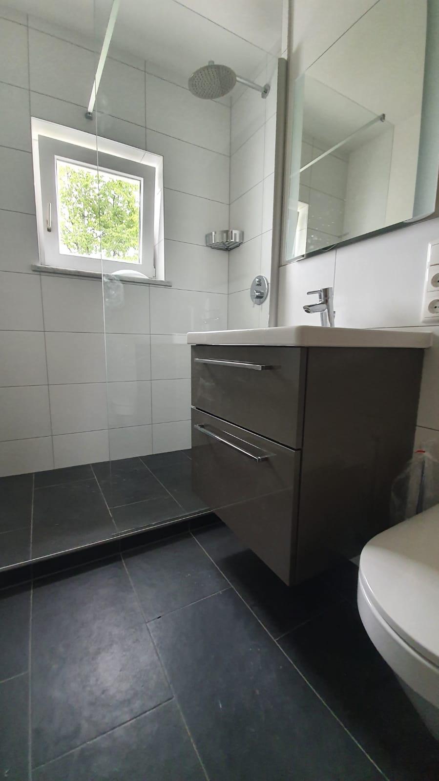 Bad modernisiert und renoviert