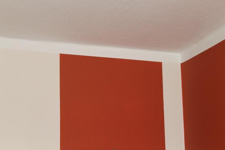 Wände schön gestrichen