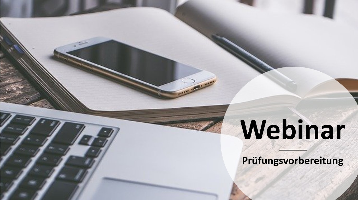 Webinar Prüfungsvorbereitung