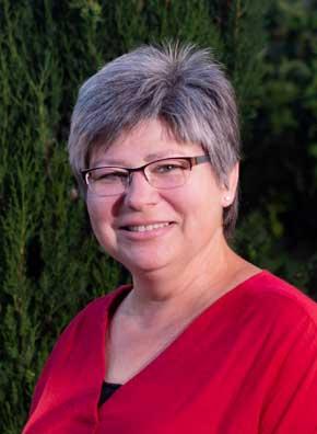 Ihre Gastgeberin Sylvia Acker