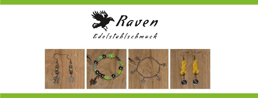 RAVEN - Familienbetrieb Raab - Raven Edelstahlschmuck e. U. - Individueller handgefertigter Edelstahlschmuck sowie Garnschmuck & Mehr