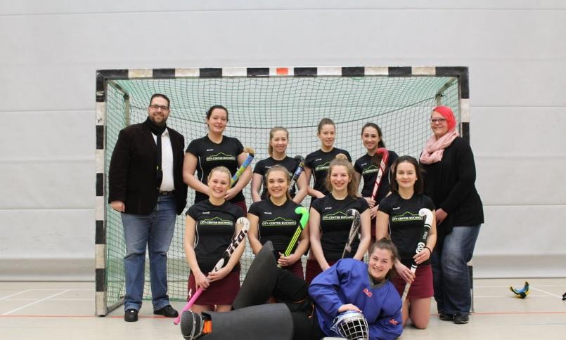 Sponsor der Hockey Damen am Gymnasium Boerns Soll