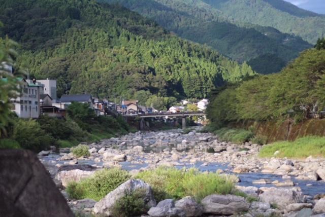 池川茶園近くの風景