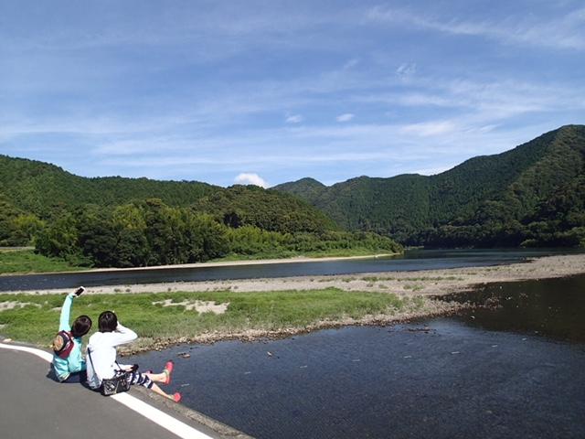 四万十川ーー!やっぱり夏が好き!