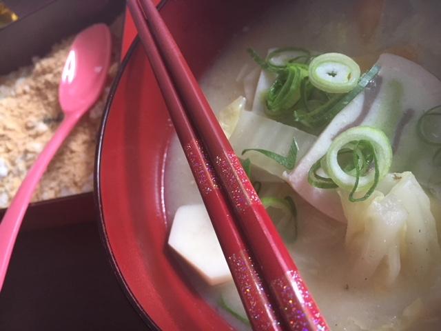 帰省写真その③ 雑煮の餅をつけて食べる用のきな粉!!ギャグじゃないよ!奈良の文化ですよ!w
