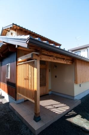 気仙杉 オリジナル玄関建具