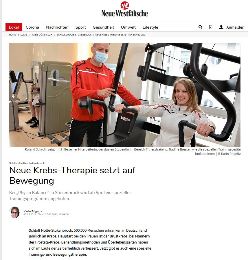 Presseschau: OTT®-Start in Schloss Holte-Stukenbrock