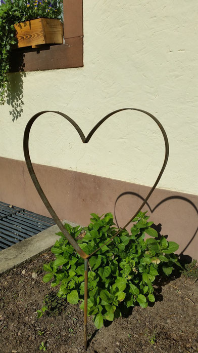 Gartenstecker Love