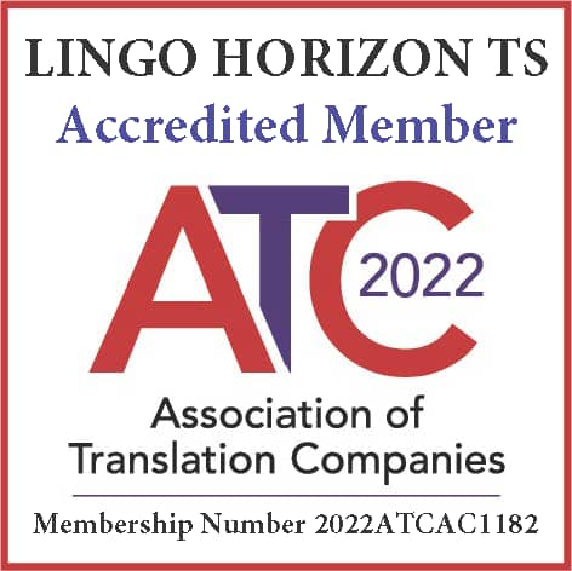 Certified Translation service london