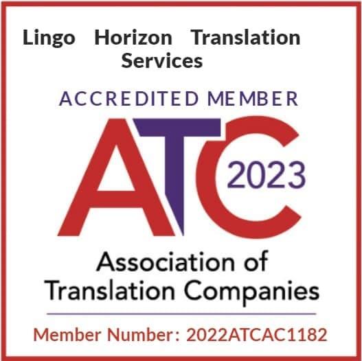 Certified Translation service  UK