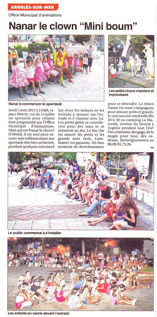Petit Journal Juillet 2012