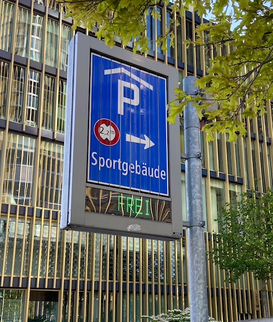 Parken ohne Stress :)