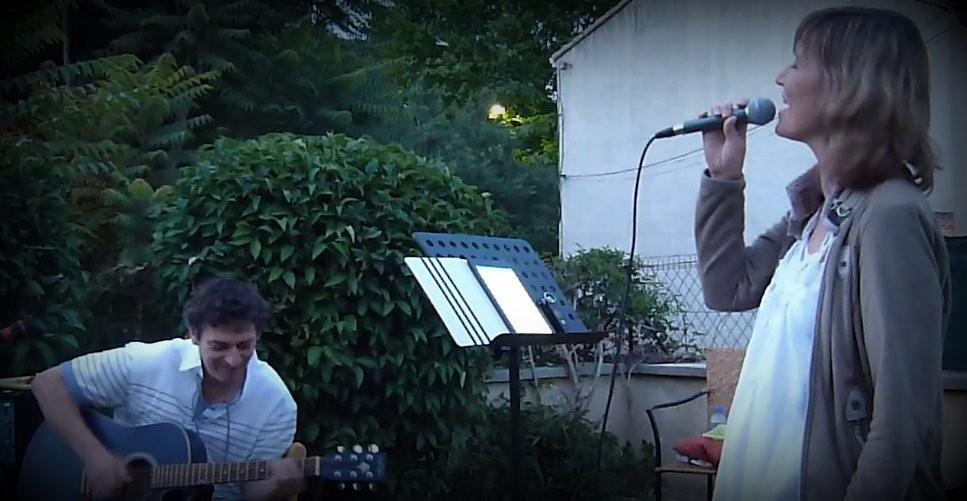 Concert sous les étoiles - Jardin de la Souris Roq Verte - Juillet 2013
