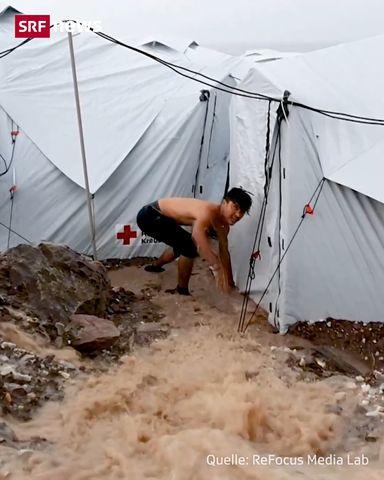 Einblicke in das Camp