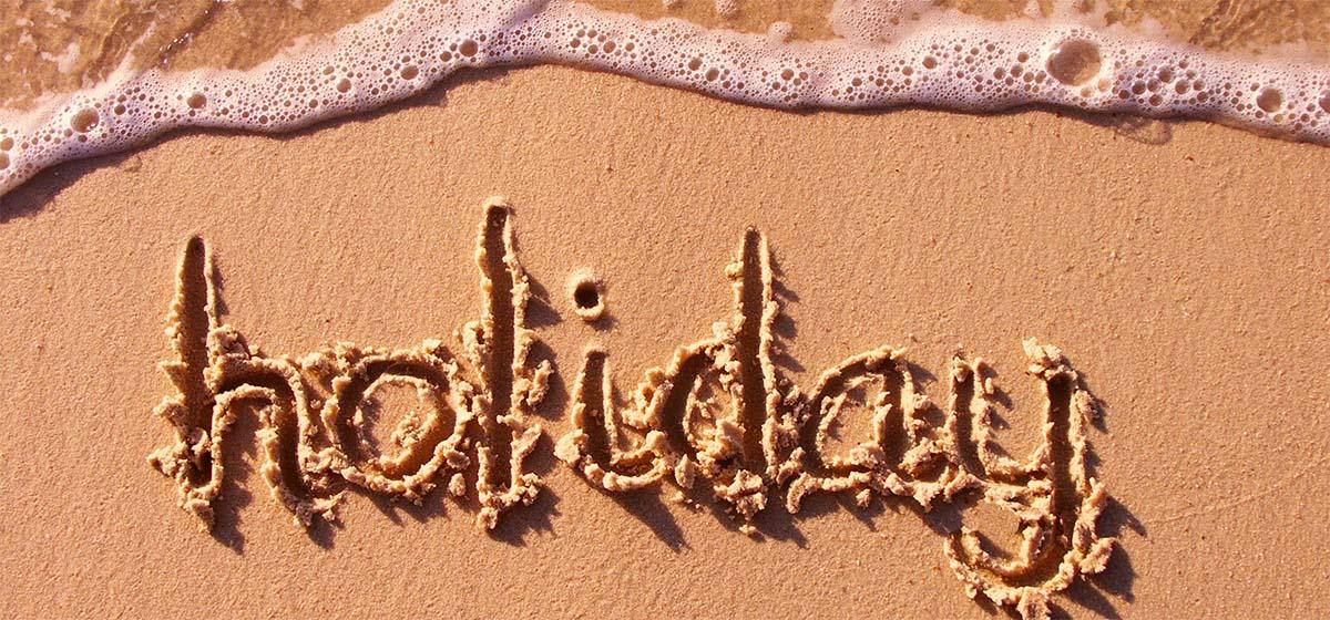 Geniet van uw zomervakantie!