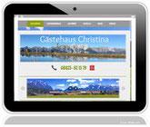 Referenzadresse von Praxisdesign-Webdesign für FeWo in Wallgau - Gästehaus Christina © opx - fotolia.com Vroni Stelzl und Susanne Pilsl