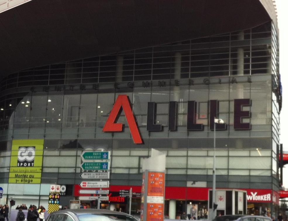 Centre commercial euralille lille en grand for Centre commercial grand tour sainte eulalie