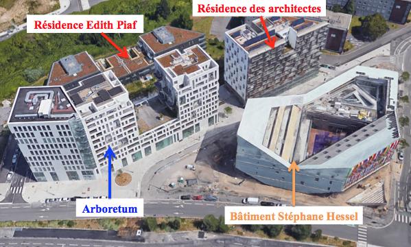 Architectes Lille résidence des architectes - lille en grand !
