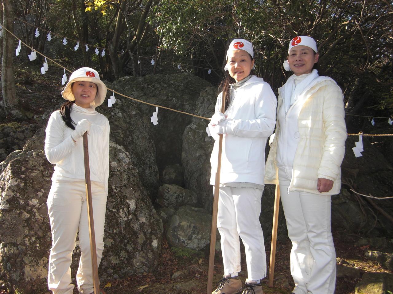 椿大神社奥の宮参拝