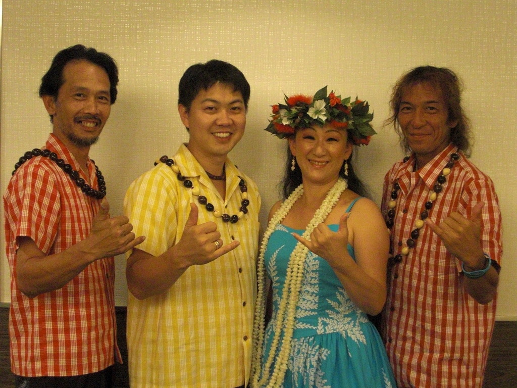 with MAHALO BAND