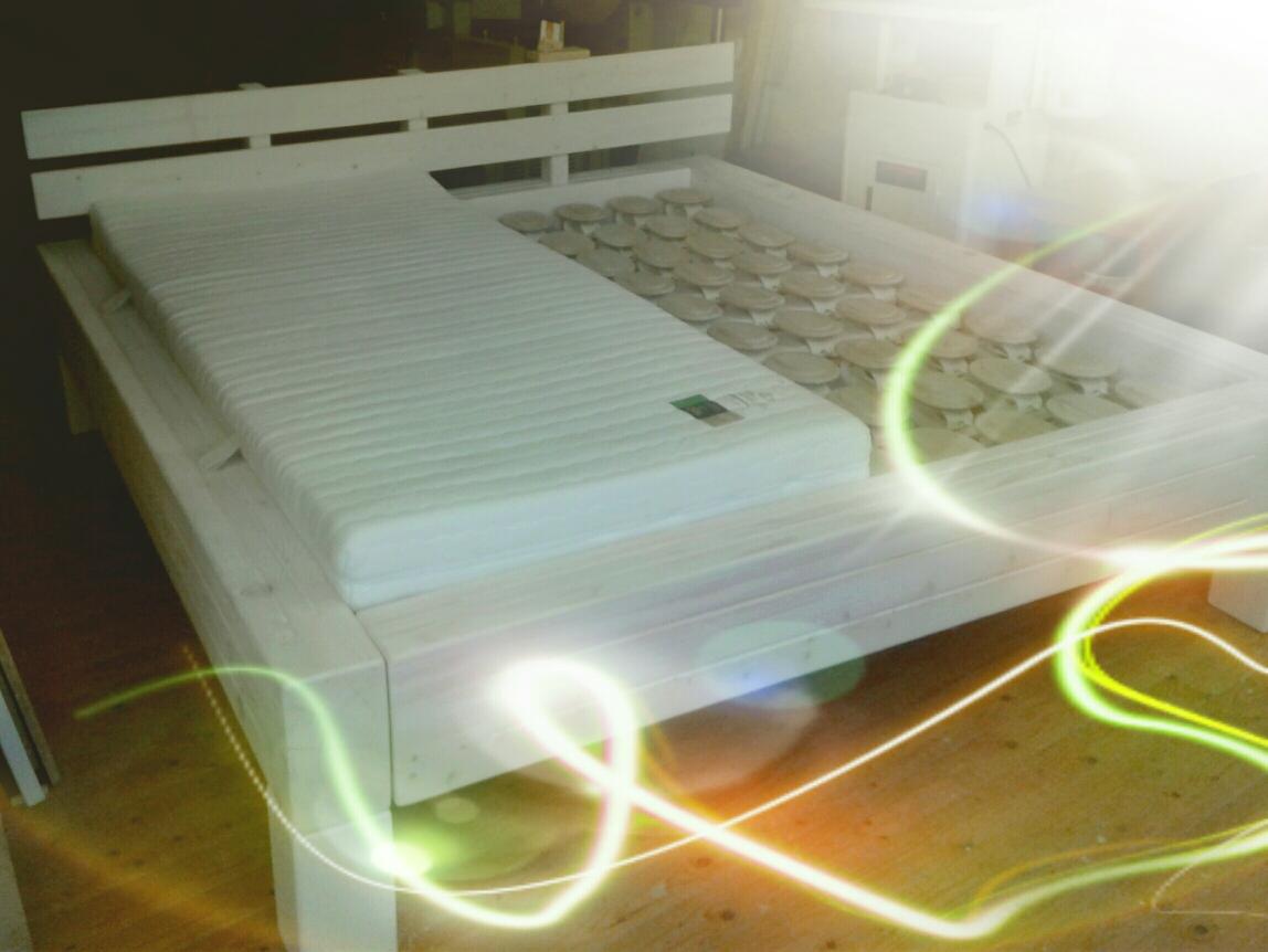 Relax Bettsystem für Seitenschläfer, Nacken-/ Rückenproblemen und sogar bei Reflux