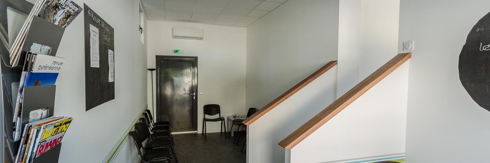 Groupe médical Ovalie à Montpellier - Salle d'attente
