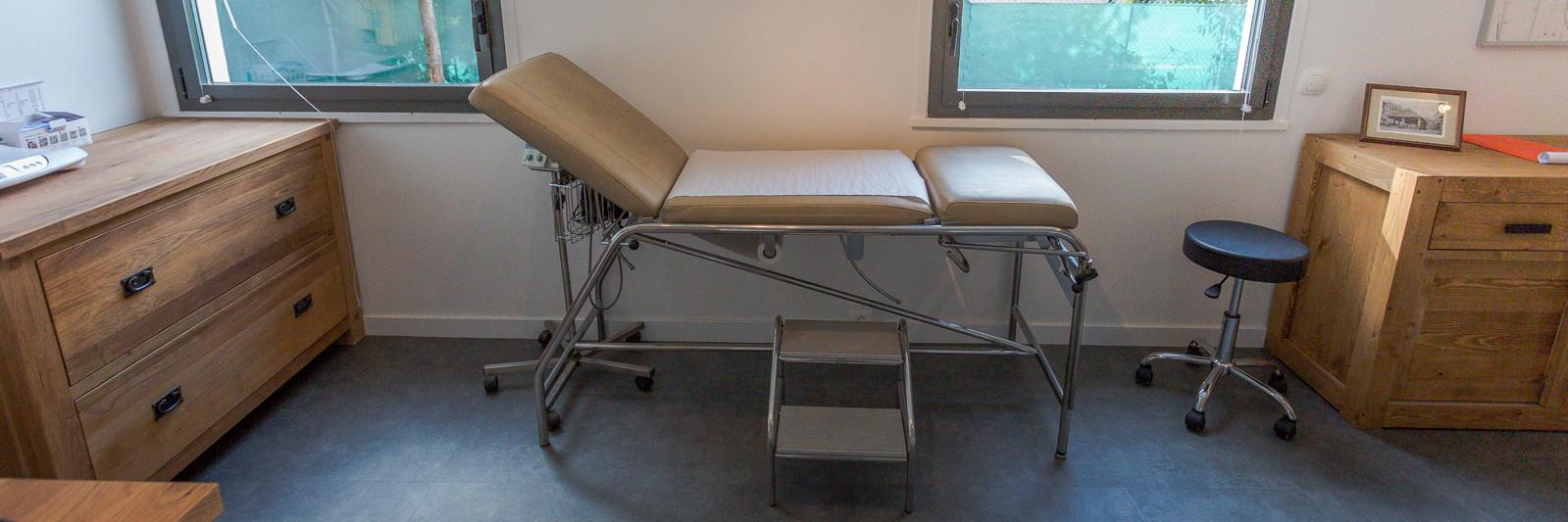 Groupe médical Ovalie à Montpellier - Salle d'auscultation