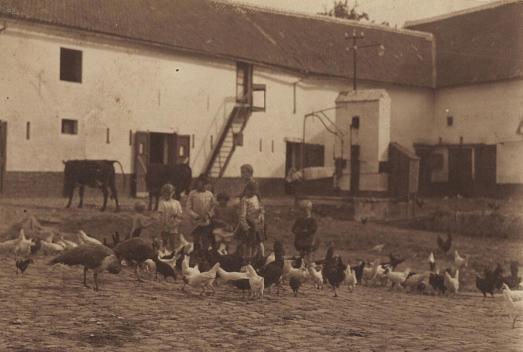 Binnenkoert, +- 1932