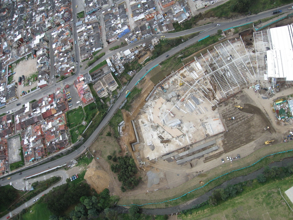 Avances  de obras en construcción