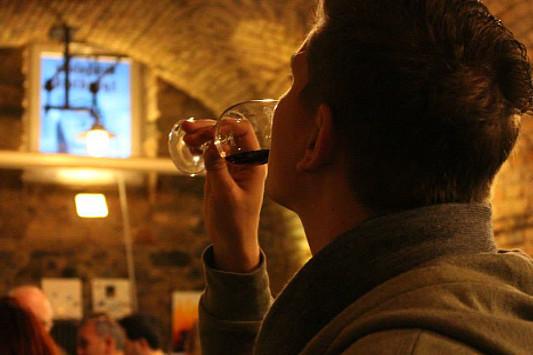 Weingenuss beim Rotweinforum