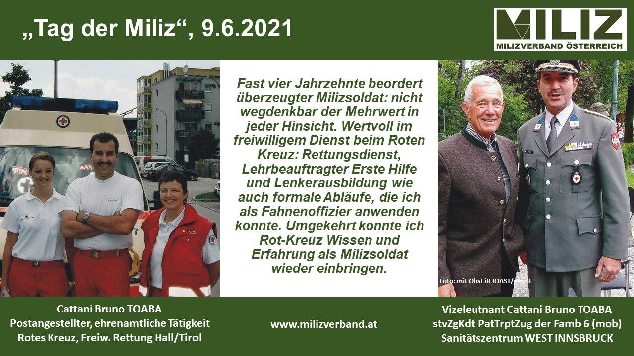 """Tag der MILIZ 2021"""