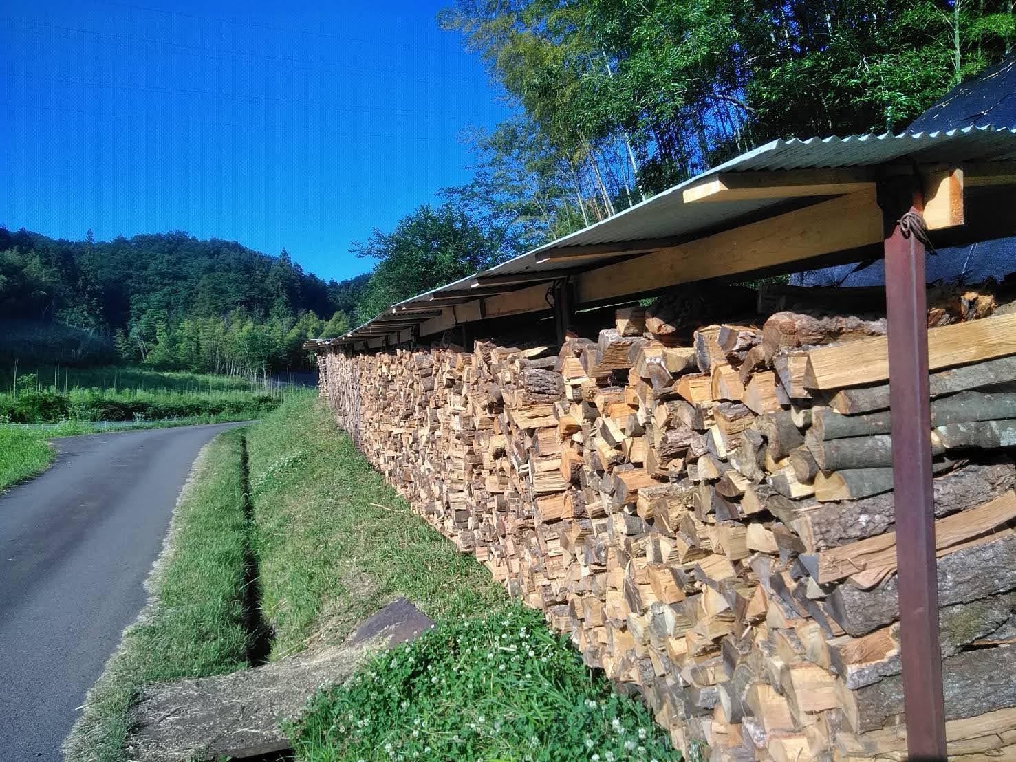 薪を作り利用する