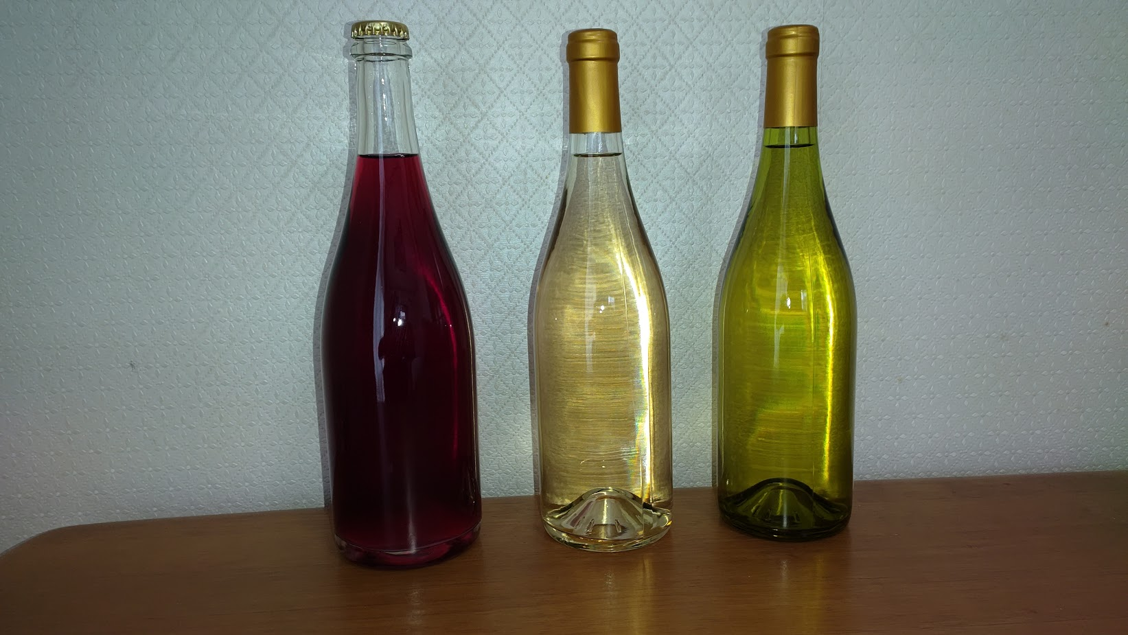 ワイン3種類の仕入れ
