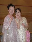 終演後、Aikaさんと(左)