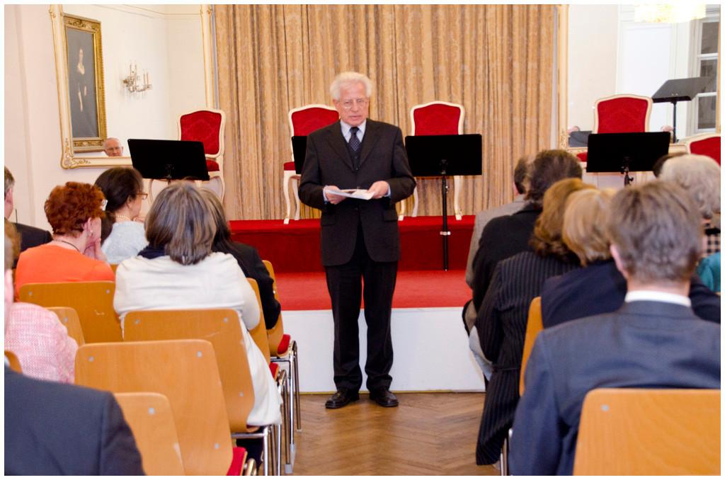 Prof.Dr. Peter Bachmaier Präsident der Österreichisch-Belarussischen Gesellschaft