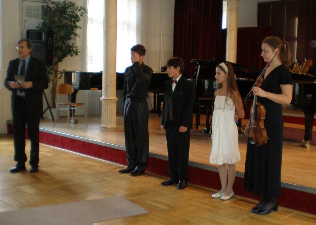 Konzert im Konservatorium - Bratislava