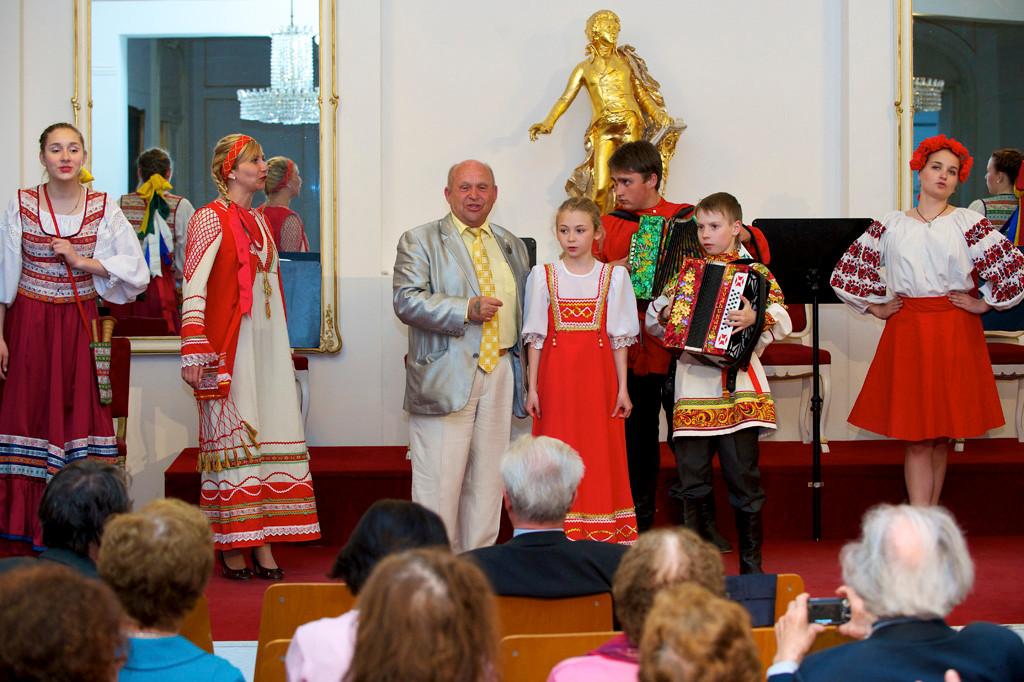 Концерт во дворце Пальфи в Вене.
