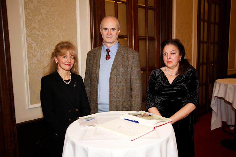 Elena Studneva, Prince Alfred von Liechtenstein, Irina Koljonen