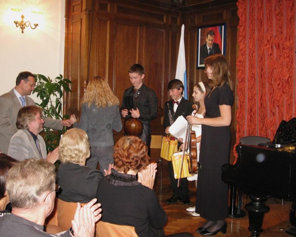 Konzert im Generalkonsulat der Russischen Föderation in Salzburg