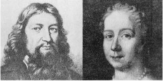 スウェーデンボルグの父イェスペル・スヴェードベリと母サラ・べーム
