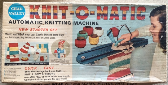 Knit-O-Matic Automatic Knitting Machine, Chad Valley