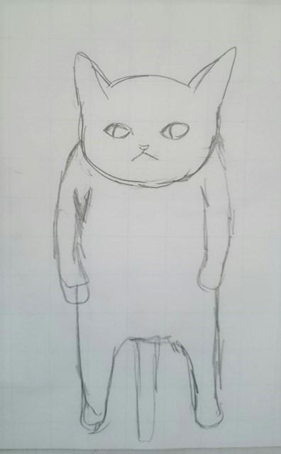 猫イラスト・猫