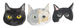 ネコトヒト看板;猫と人,nekotohito