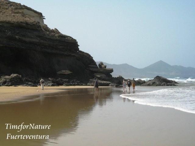 Wüste, Strand und Berge