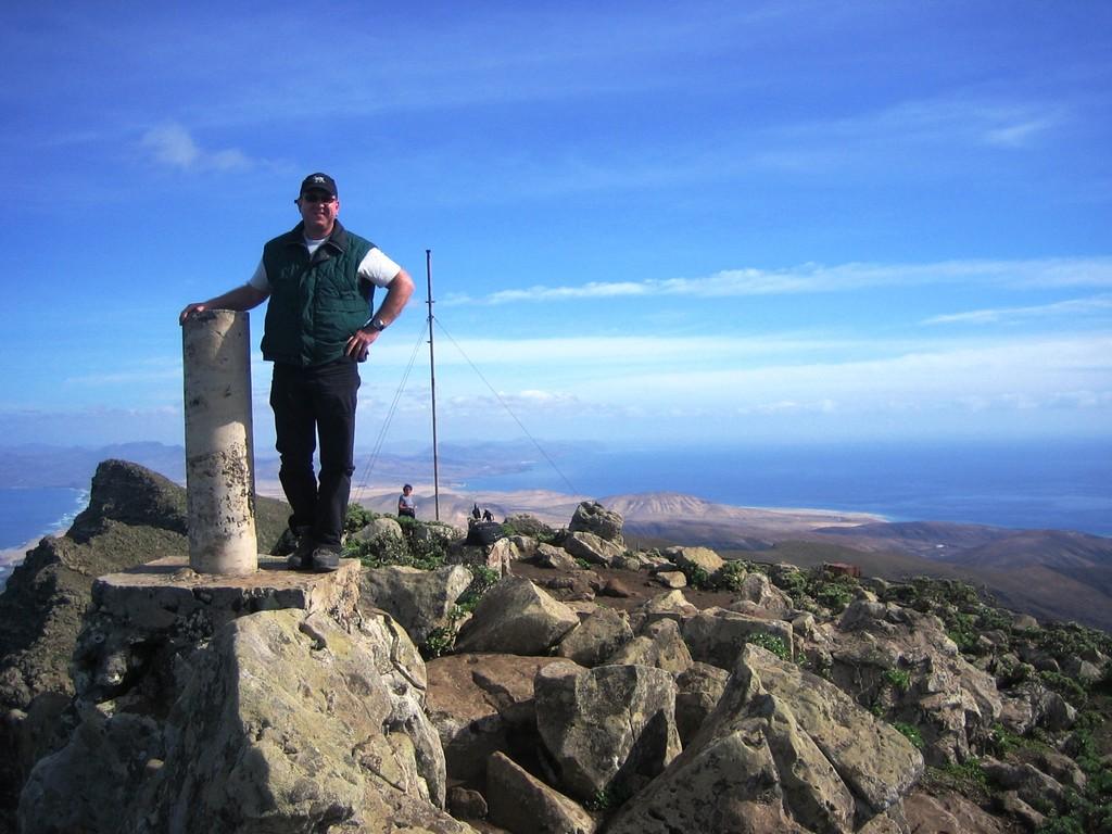 Auf 807 Höhenmeter - Pico de la Zarza